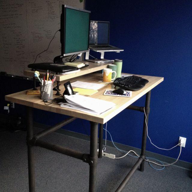 Standup Desk Ideas, Stand Up Desk, Desk