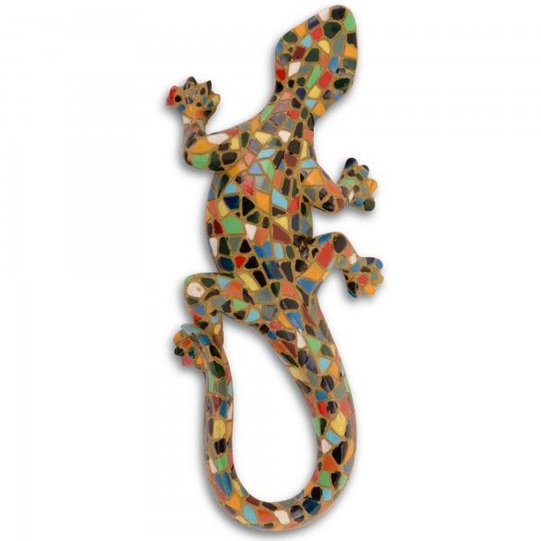 Hanging Lizard Fence Decoration With Images Wall Ornaments