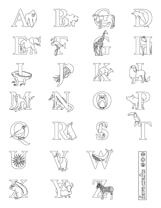 Alphabet Coloring Page Pdf Alphabet Coloring Pages Coloring Pages Alphabet Coloring