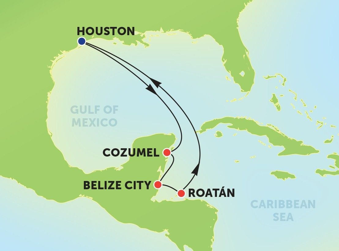 Norwegian Jewel Itinerary Out Of Houston Starting October - Cruise out of houston