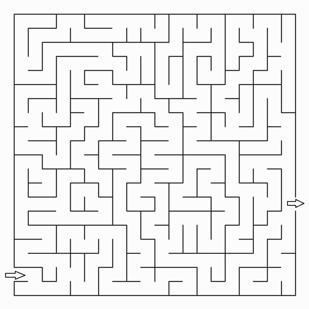 Coloring Mazes With Images