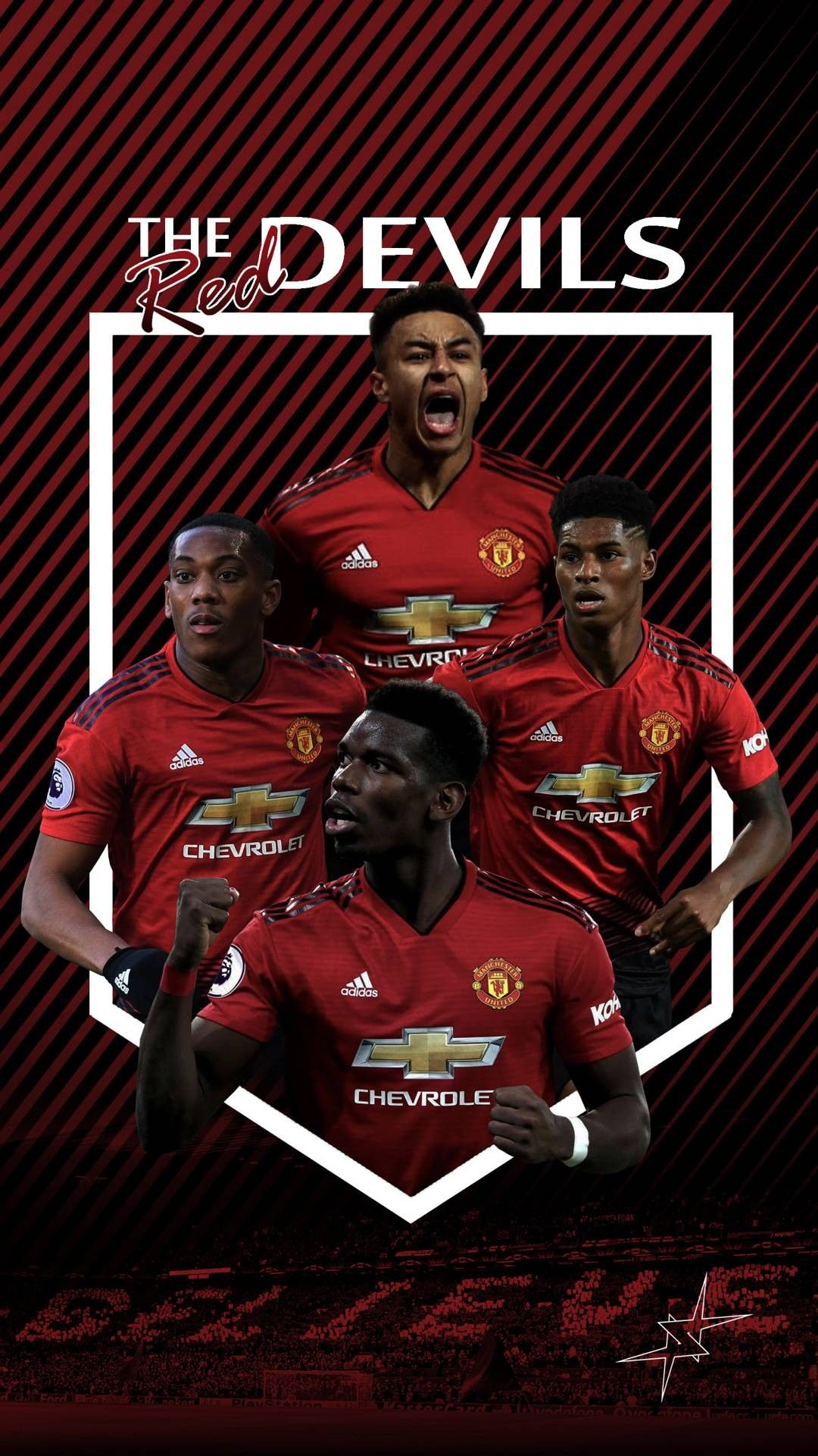 the red devils man utd wallpaper manchester united logo manchester united poster manchester united team the red devils man utd wallpaper