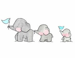 Elephants on Parade Archival Print