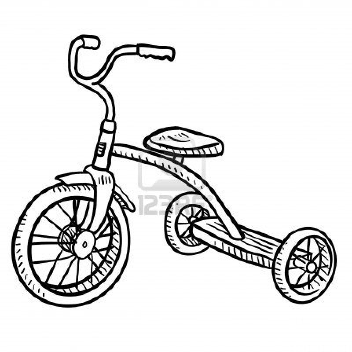 Stock Photo Tricycle Tricycle Images Bike Illustration
