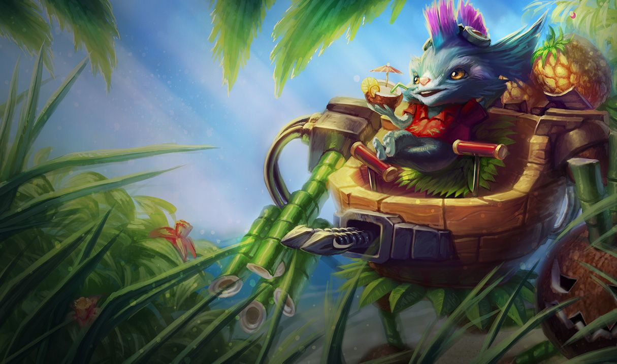 24024 League Of Legends Rumble In The Jungle Skin League Of