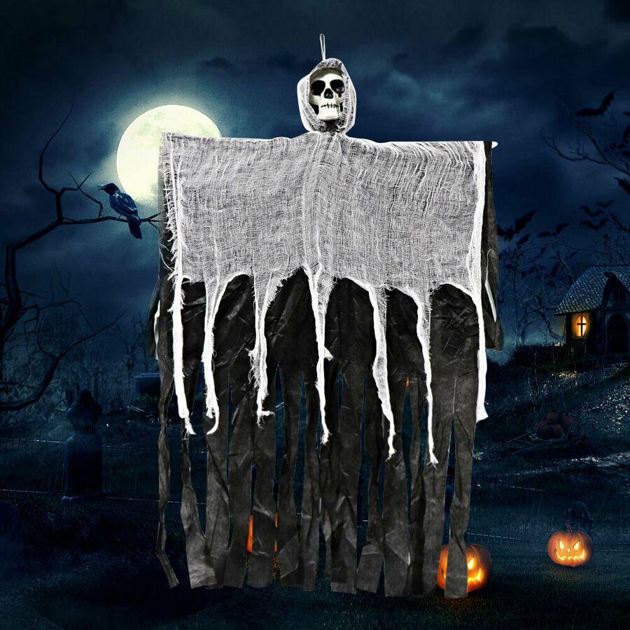 Skull Skeleton Halloween Hanging Ghost Door Halloween Decoration Halloween Props