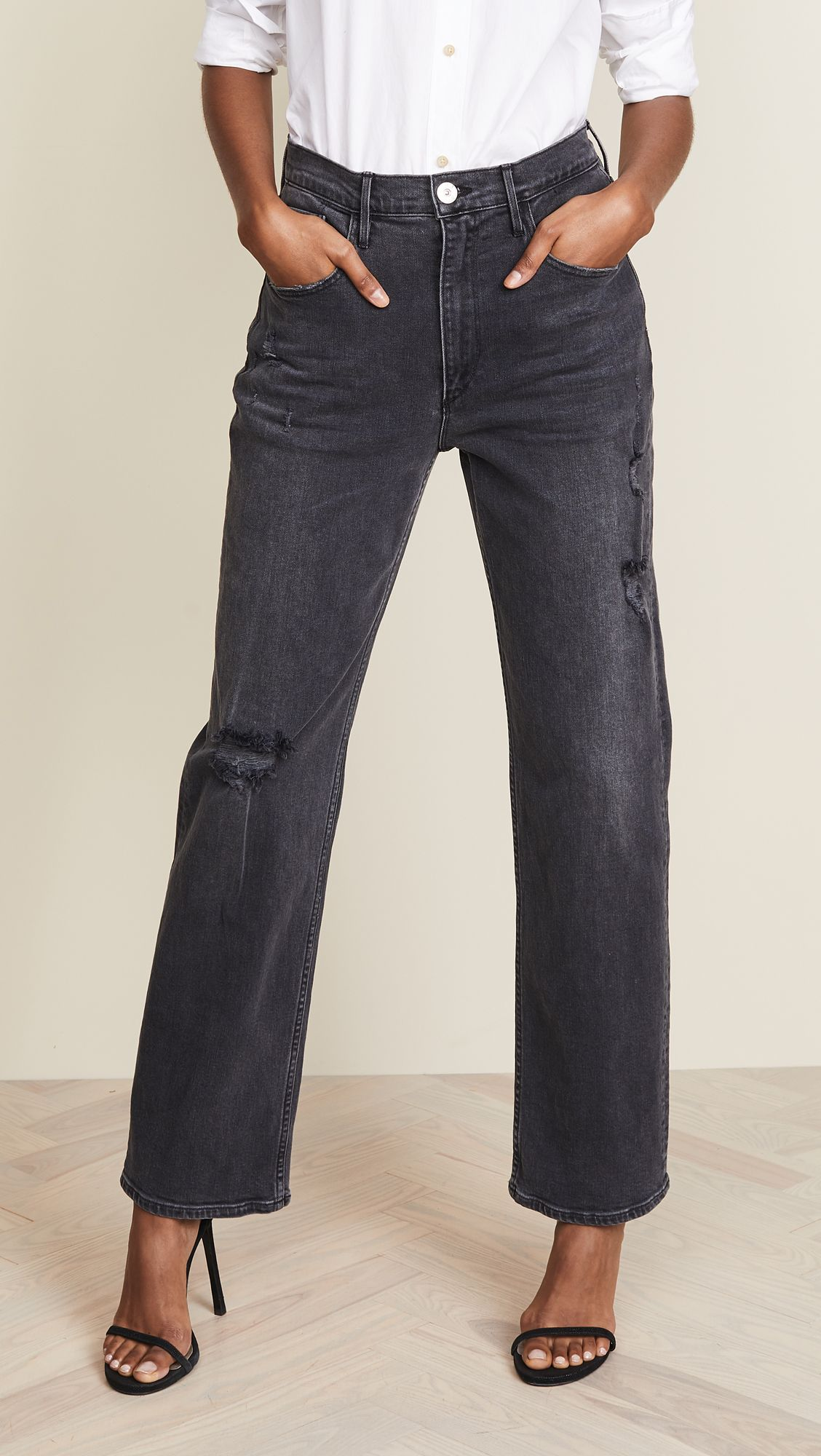 loose fit jeans women