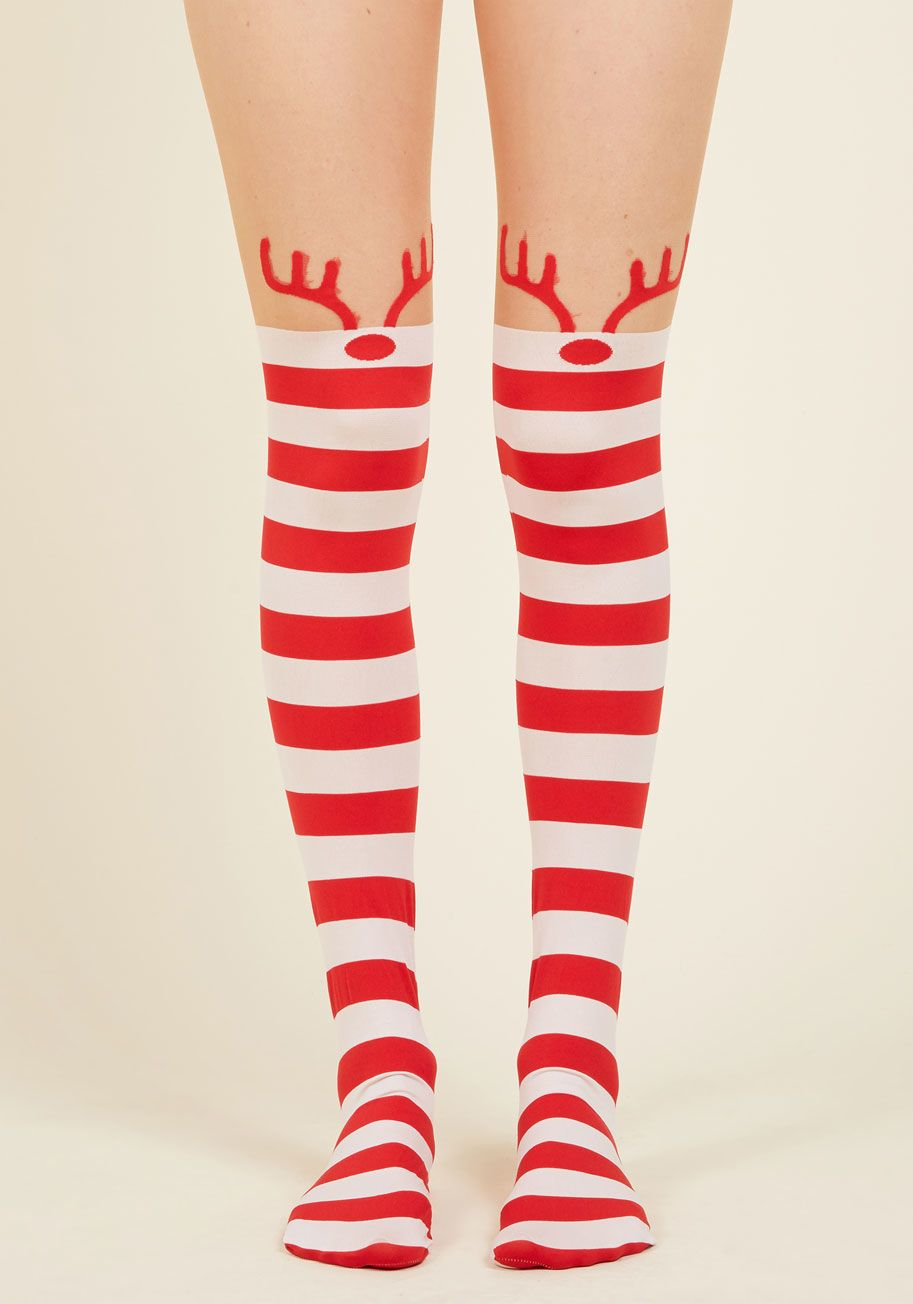 1d0e5e798fb80 Rooftop Revelry Candy Cane Stripe Tights Holiday Outfits, Holiday Dresses,  Holiday Gifts, Beige
