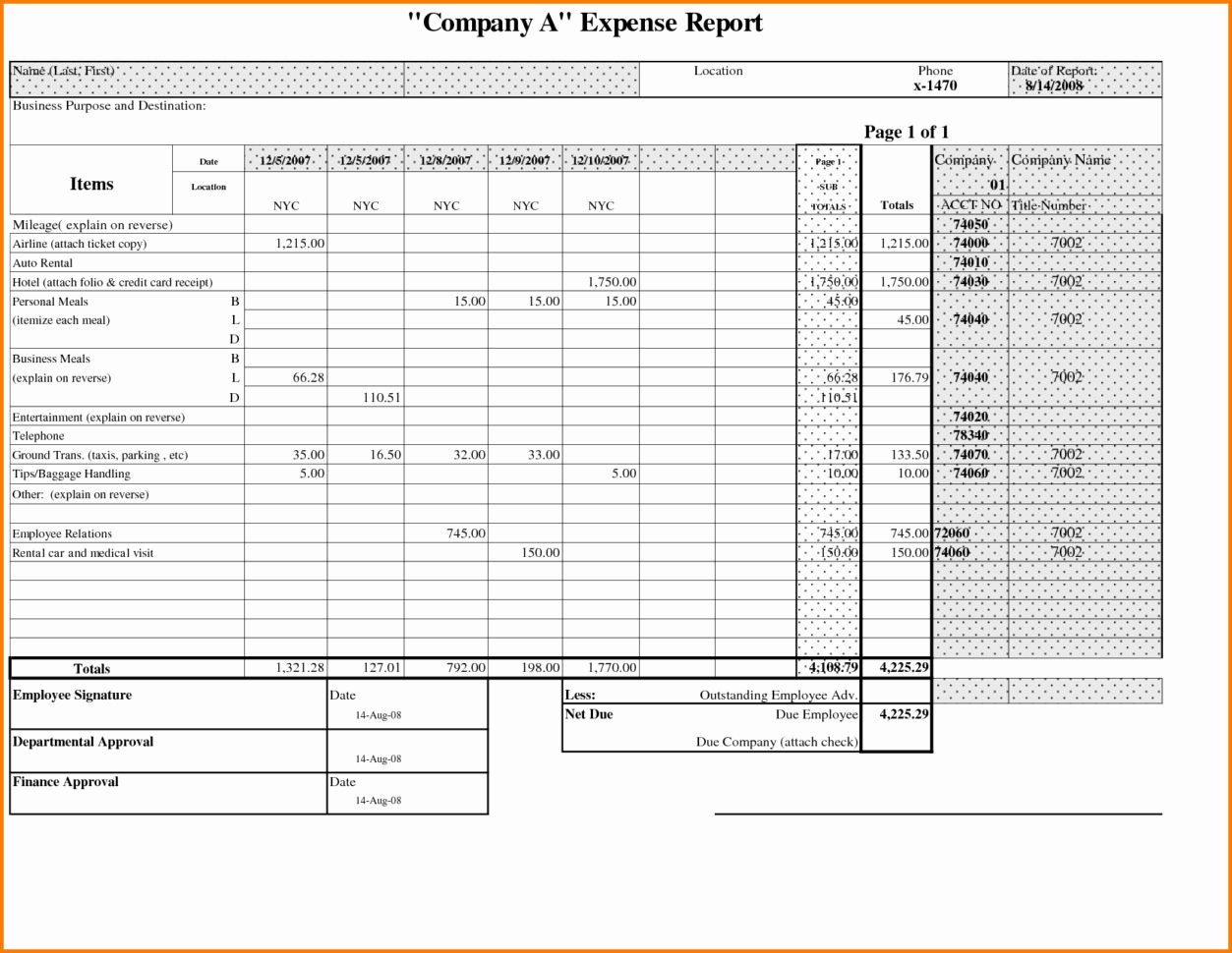 Credit Card Expense Report Template Awesome Credit Card Expense Report Template Expense Spreadsheet Report Card Template Report Template Budget Template Free