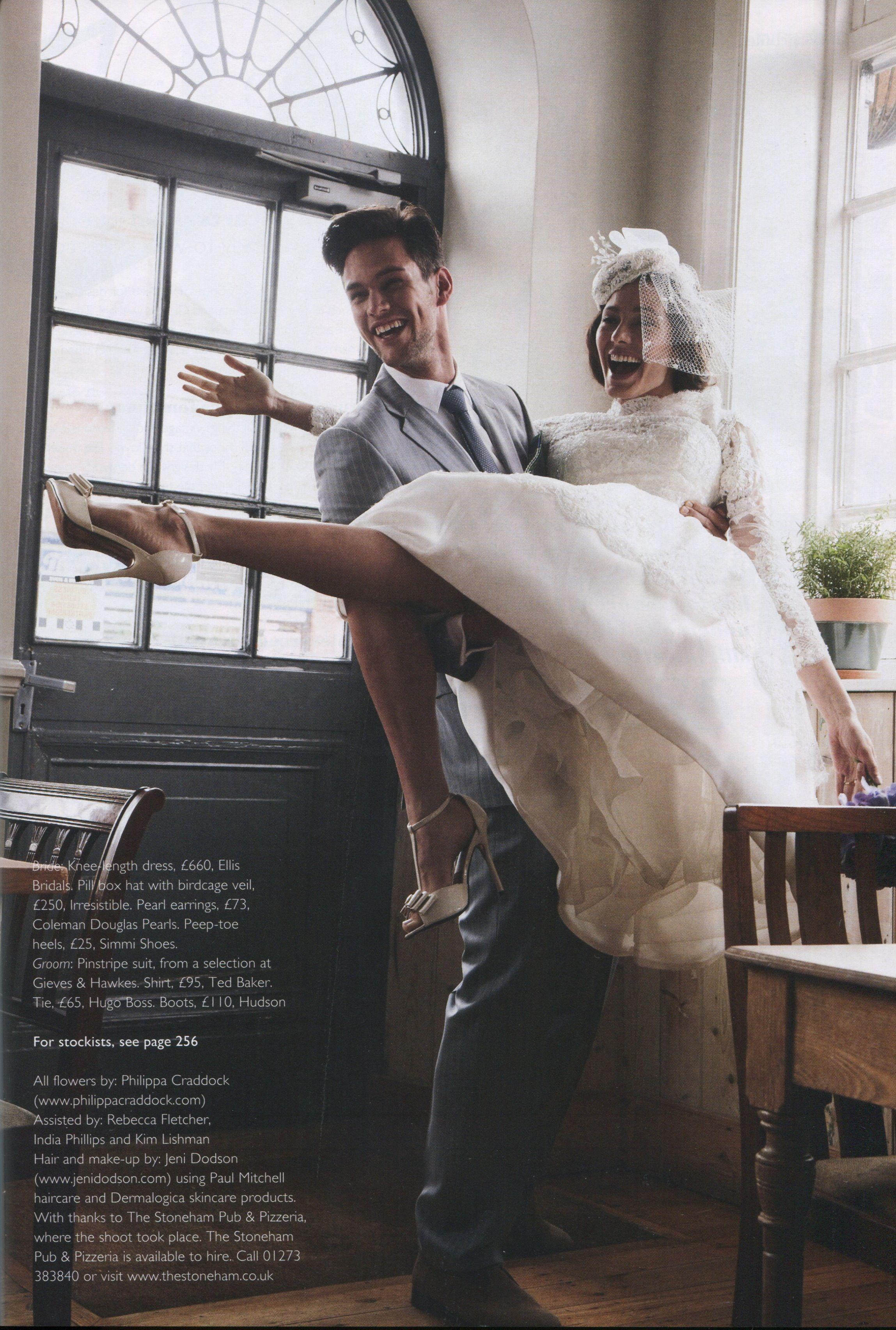 Ellis Style 11317 Featured In Wedding Magazine Www Ellisbridals Co Uk