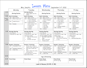 New Adventures in First Grade: First week lesson plans