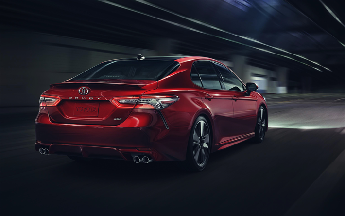 download wallpapers toyota camry xse 2018 4k rear view new camry rh pinterest com