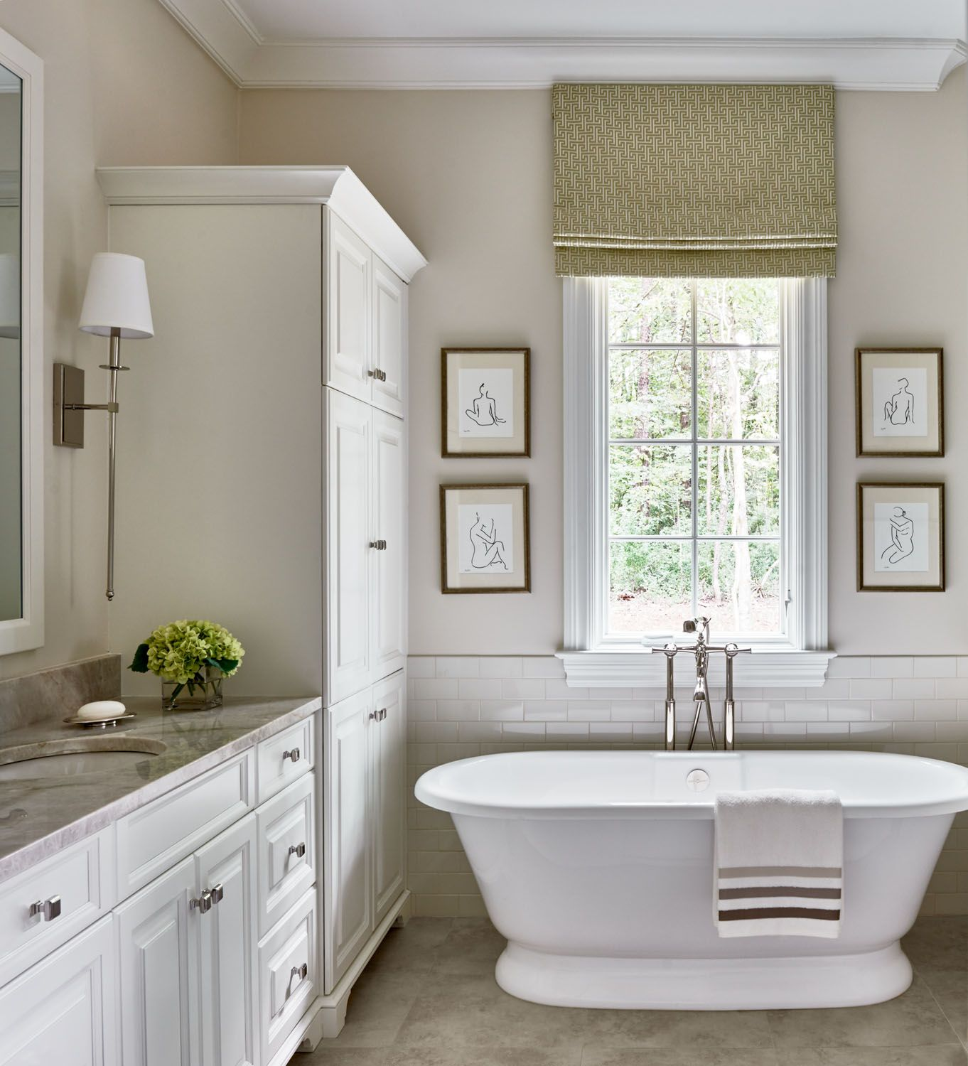 Bathroom inspiration Cheval Traci Zeller