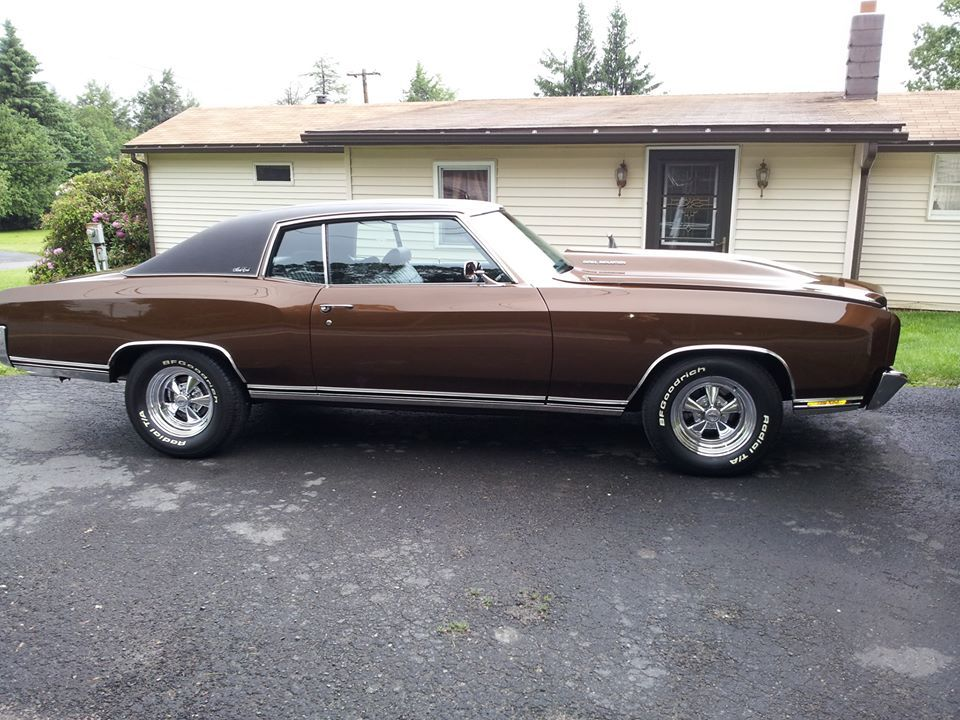 1972 Chevy Monte Carlo 383 Stroker 480 Hp Classic Cars Chevy