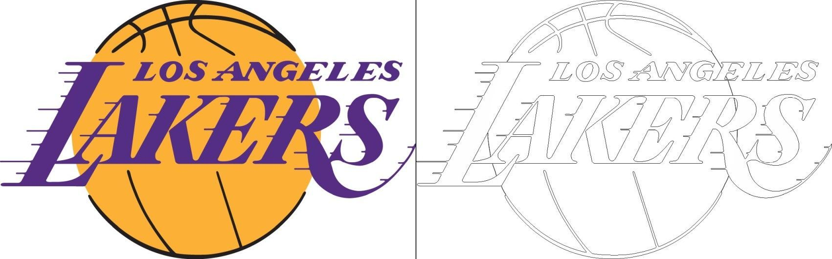 Lakers logo coloring page Lakers logo Abel Blog in