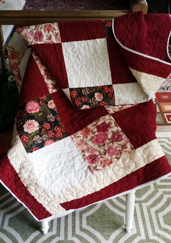 Homemade queen quilt / queen size quilt / queen quilts handmade ... : quilting queen - Adamdwight.com