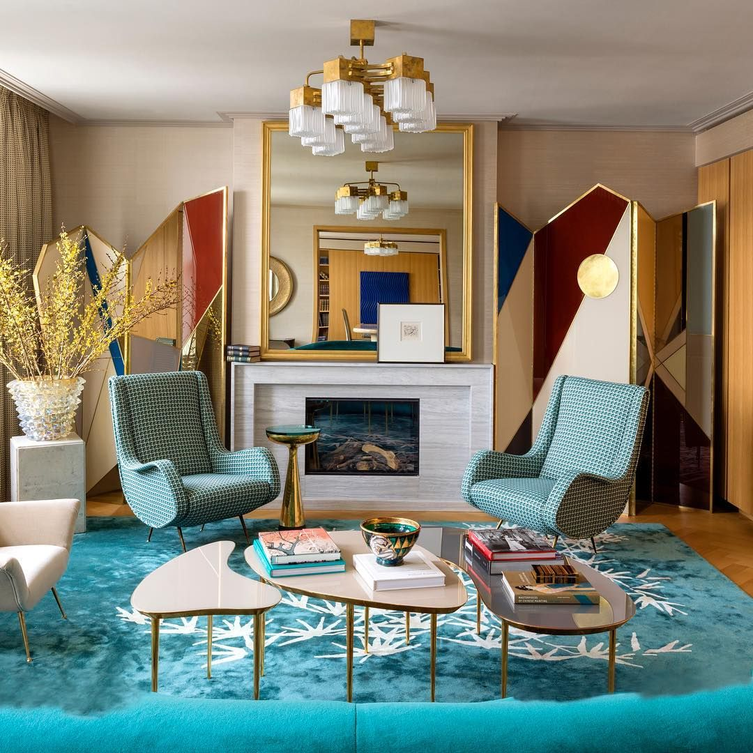 In The Sitting Room Of A London Apartment Designed By Irakli Zaria