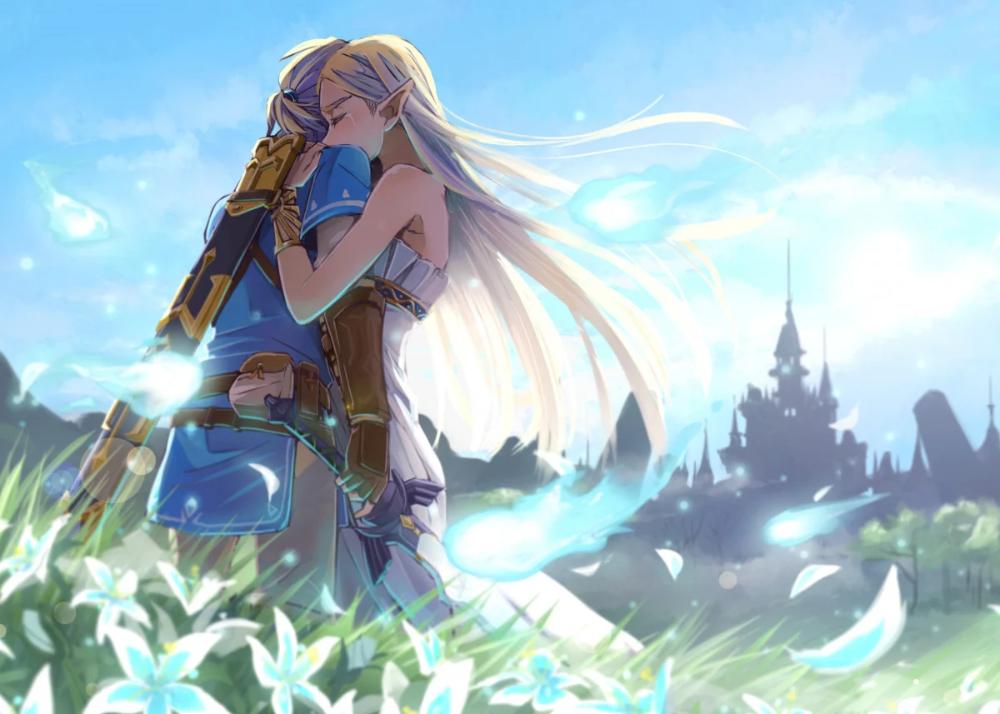 Legend Zelda Breath Wild 8 Metal Poster Fakun Displate Legend Of Zelda Breath Legend Of Zelda Breath Of The Wild