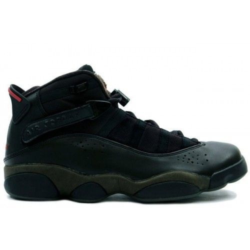 brand new f4dcb def5c Air Jordan VI 6 Rings Mens Basketball Shoes Black Dark Army A6R006 Price    103.99 http