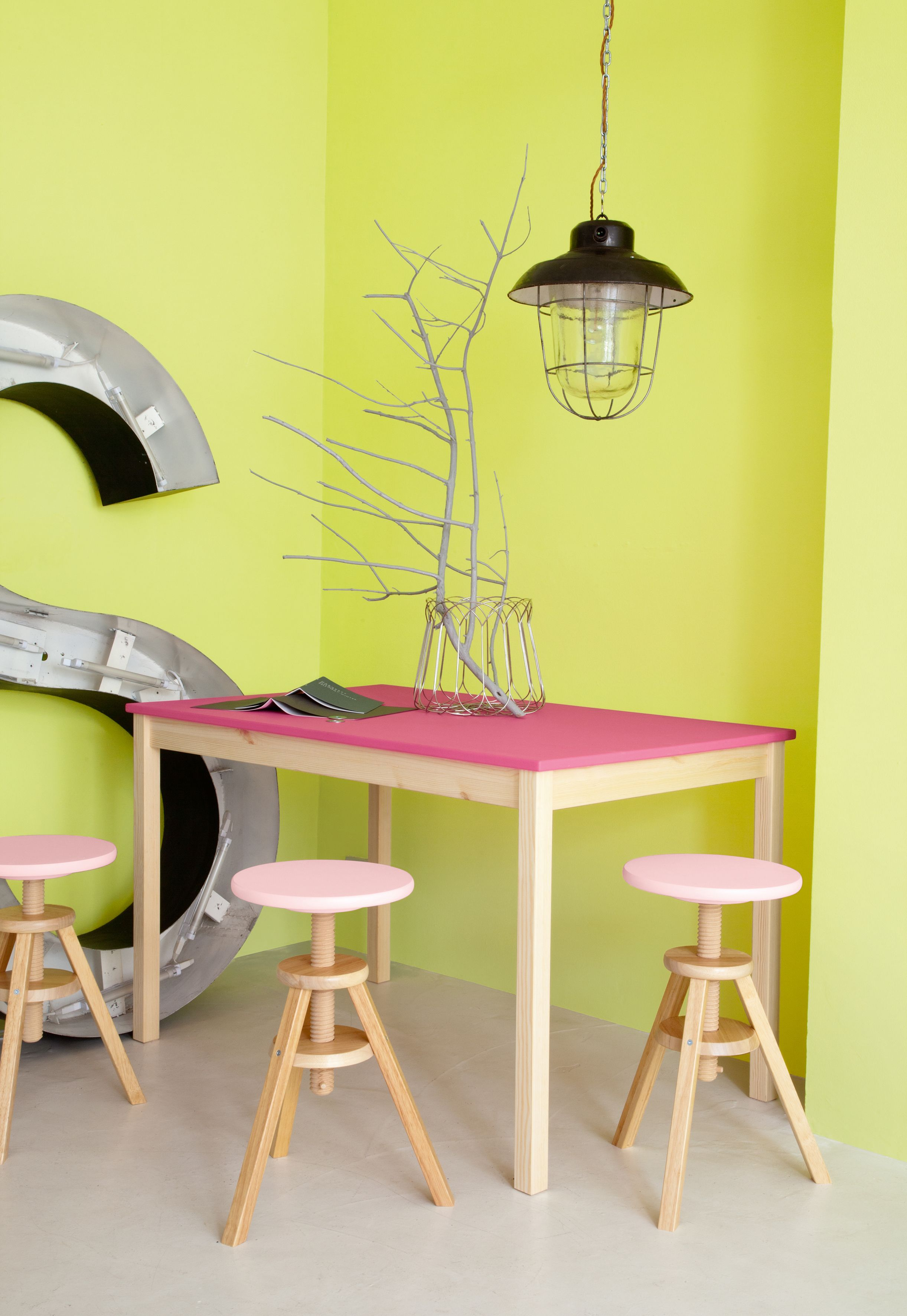 Bright Yellow Walls Hellocolor Crown Paints Kids Room