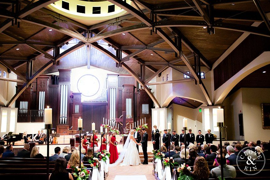 Ceremony At The Village Church In Rancho Santa Fe Valencia Wedding Taylor And