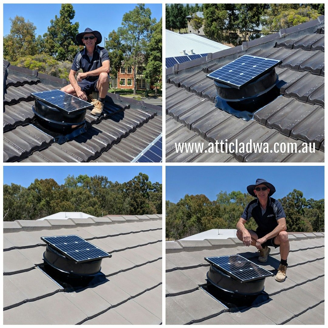 Perth Solar roof vents by Attic Lad WA. Check out the