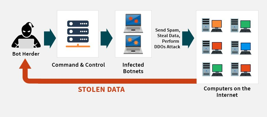 How DDoS And Botnets Can Influence Network Severely?   World of