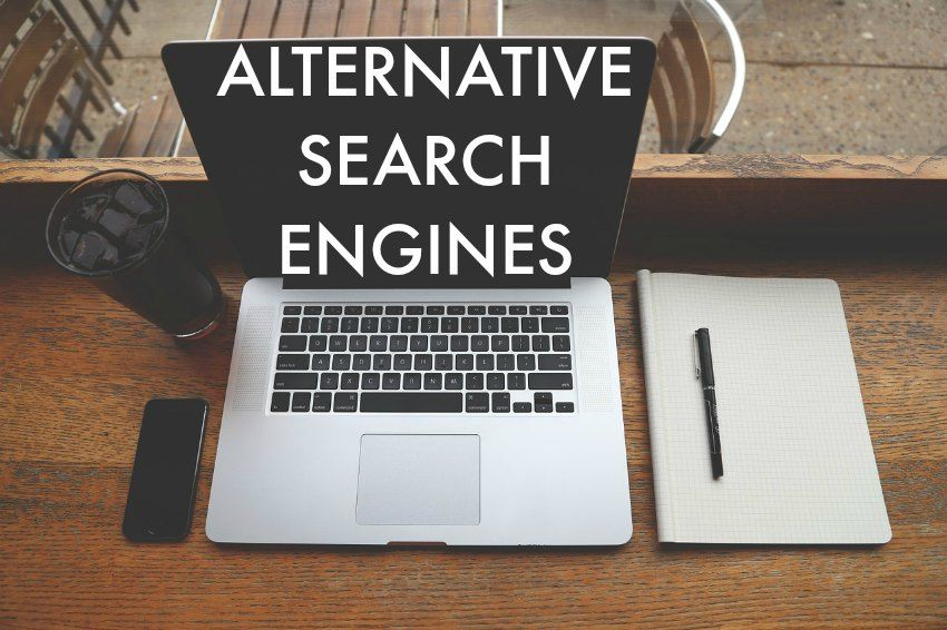 Alternative Search Engines to Google on www.moralfibres.co.uk