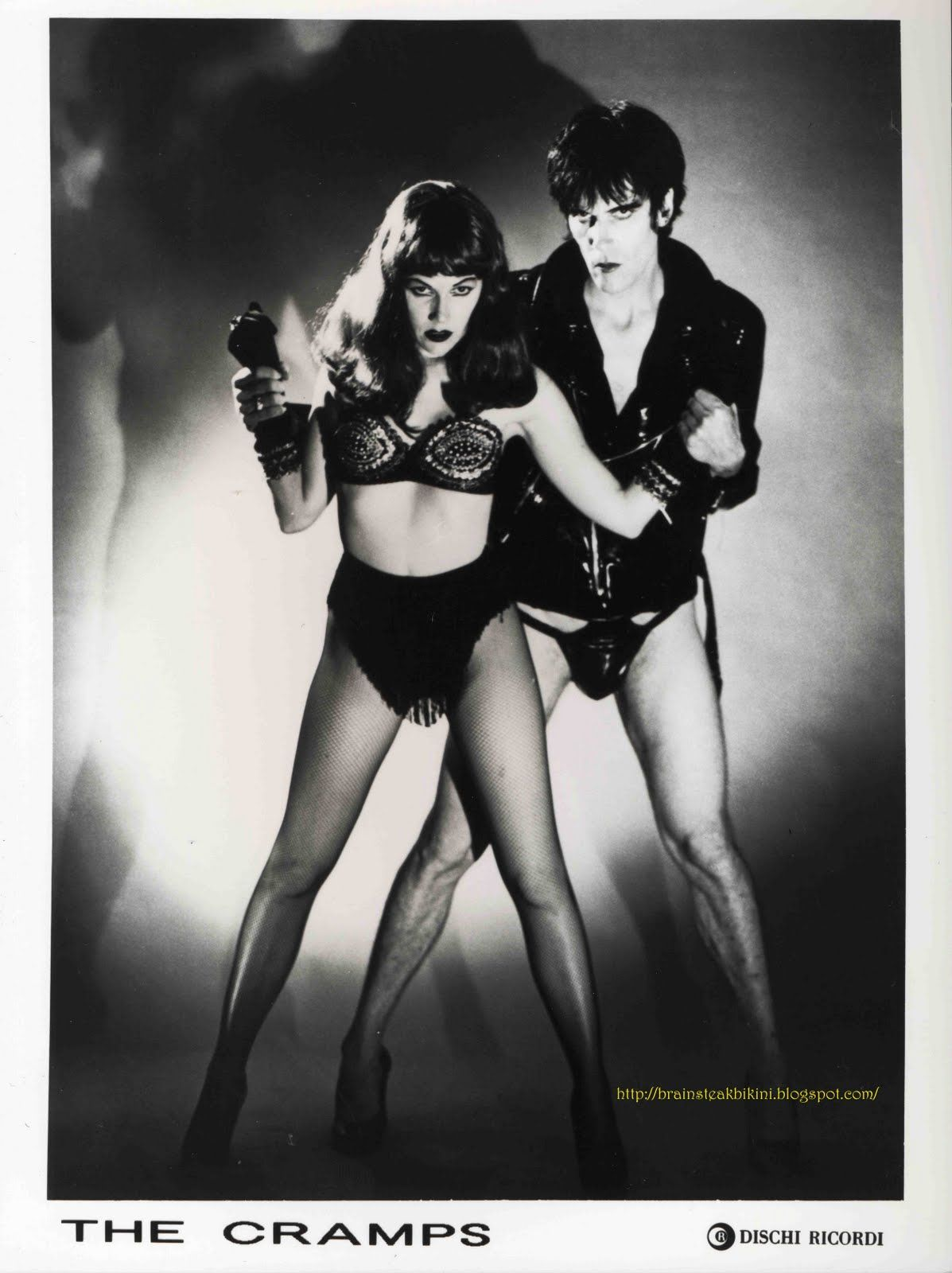 Lux interior  Poison Ivi  people  The cramps Goth