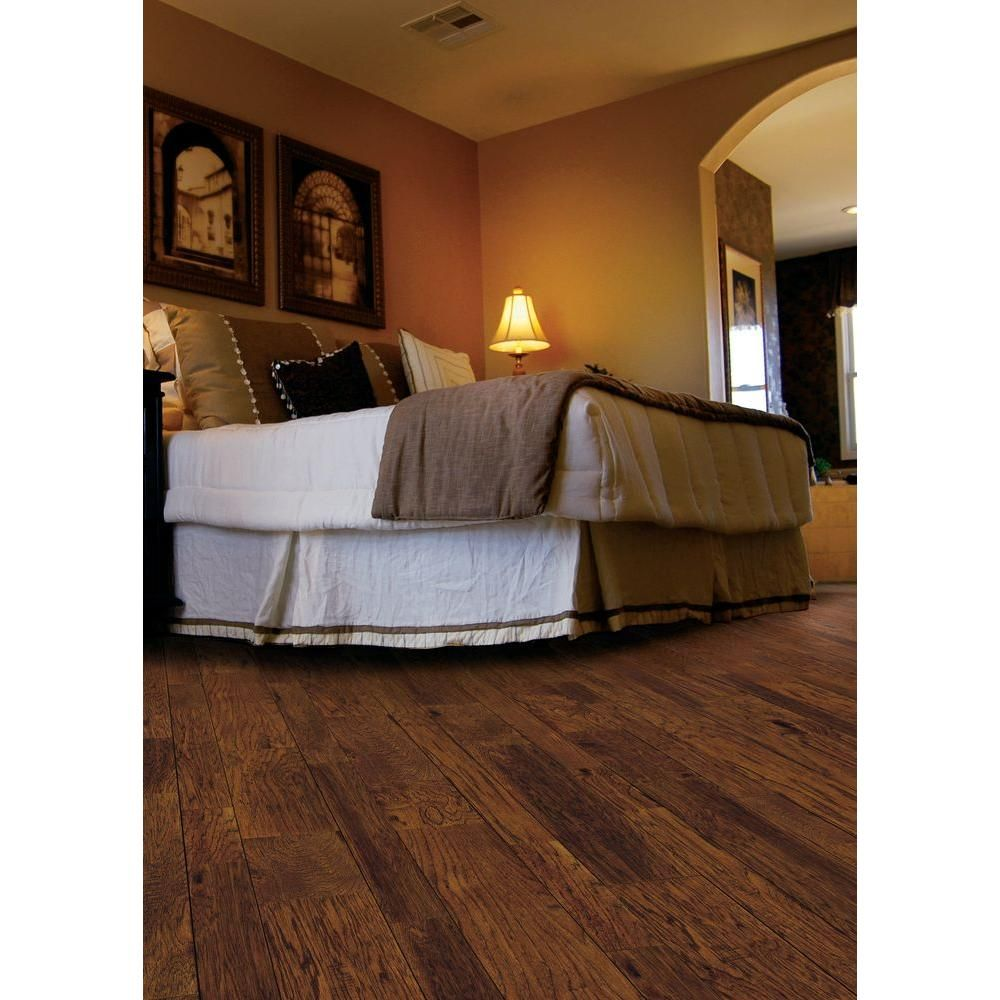 Home Legend Distressed Barrett Hickory 3 8 In X3 1 2 In And 6 1 2 In Varying Length Engineered Hardwood Floor 26 25 Sq Ft Case Hl139p Engineered Hardwood Flooring Engineered Hardwood Hardwood Floors