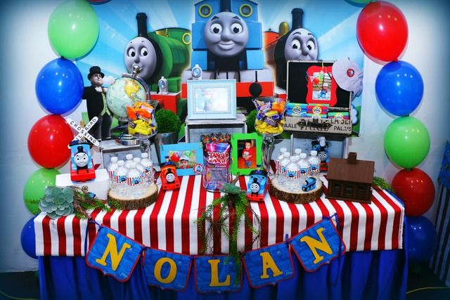 Thomas And Friends Birthday Party Ideas
