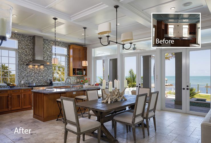 Local Interior Designers Share Before And After Photos Of