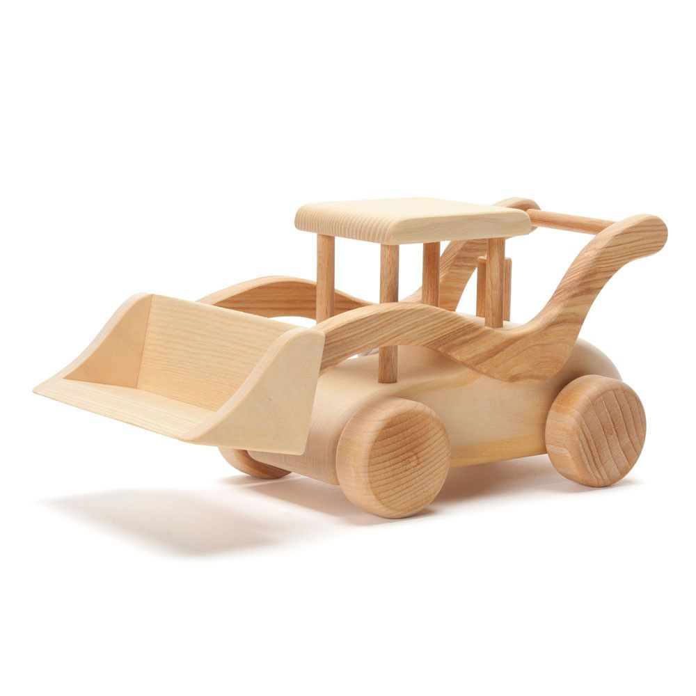 Car mirror hanging toys  little digger  Nova Natural Toys u Crafts    Træ arbejde