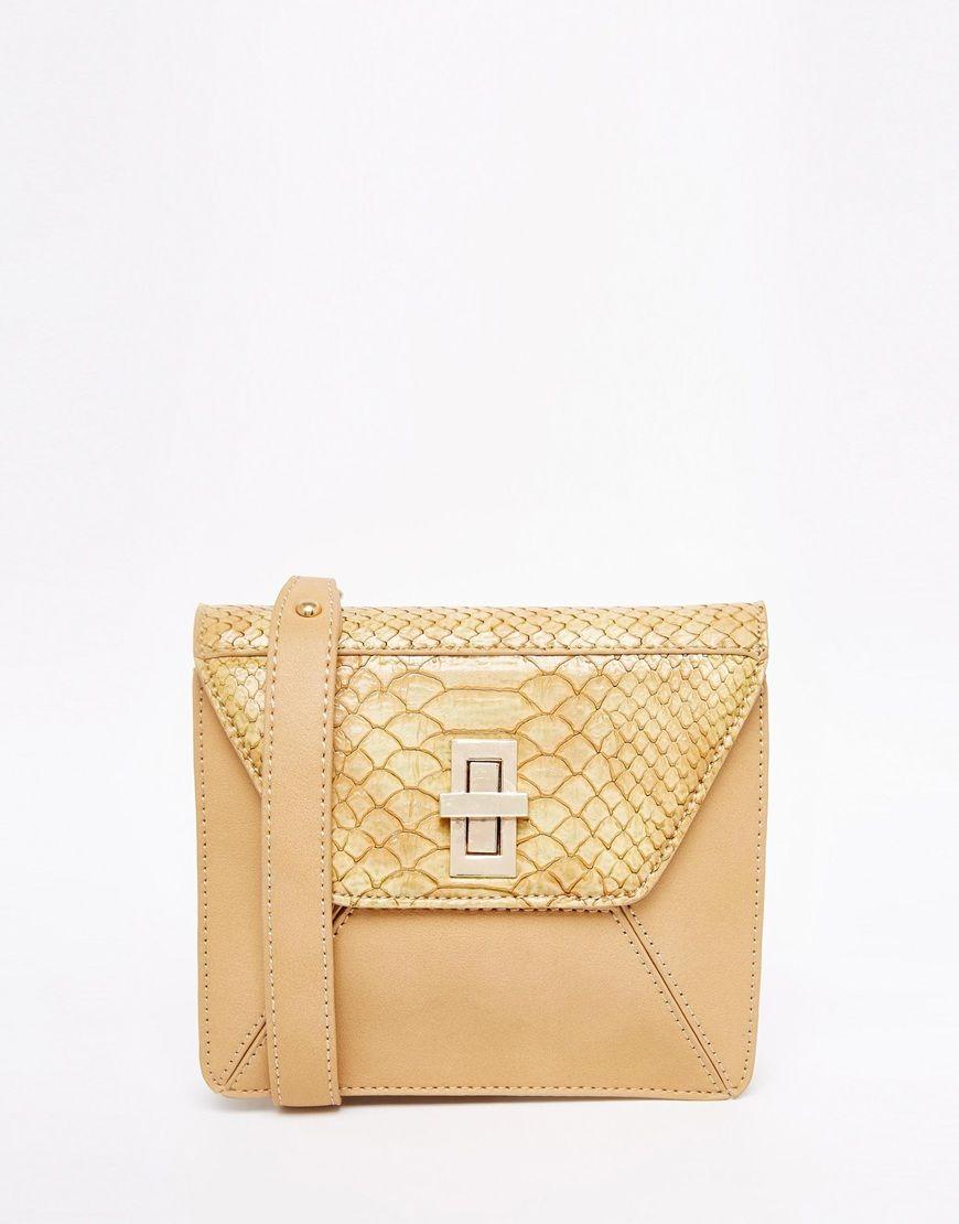 ASOS Textured Cross Body Bag