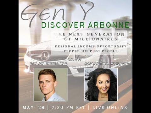 GEN Y DISCOVER ARBONNE- Dylan Dreiling and Sammi McLeod
