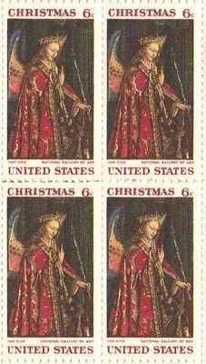 Christmas Set Of 4 X 6 Cent US Postage Stamps NEW Scot 1363 470