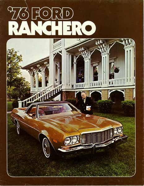 1976 Ford Ranchero Ad 01