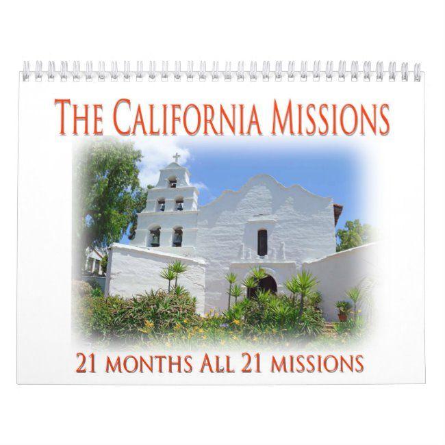 The California Missions Calendar