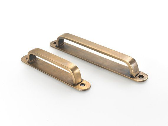 brass drawer handles brass pulls vintage drawer pull cupboard rh pinterest com