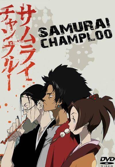 samurai champloo samurai japanese poster