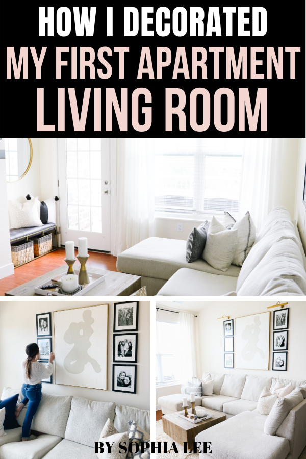 7 Genius Ways To Decorate Your Apartment Living Room Wall While