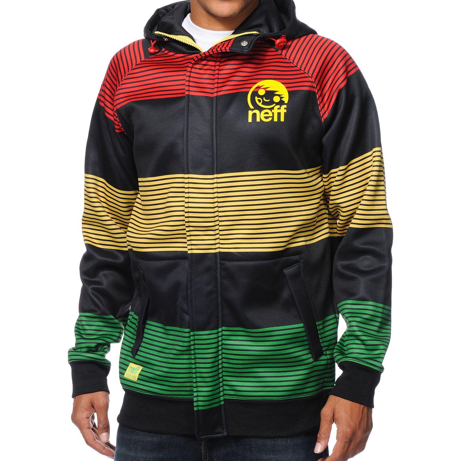 Mens Rasta Tracksuit Set Collared Top Elasticated Waist Trouser Bob Marley at Back