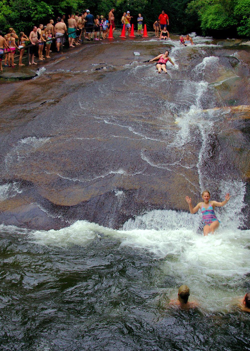 Best 25 Sliding Rock North Carolina Ideas On Pinterest National Forest Near Me When Is