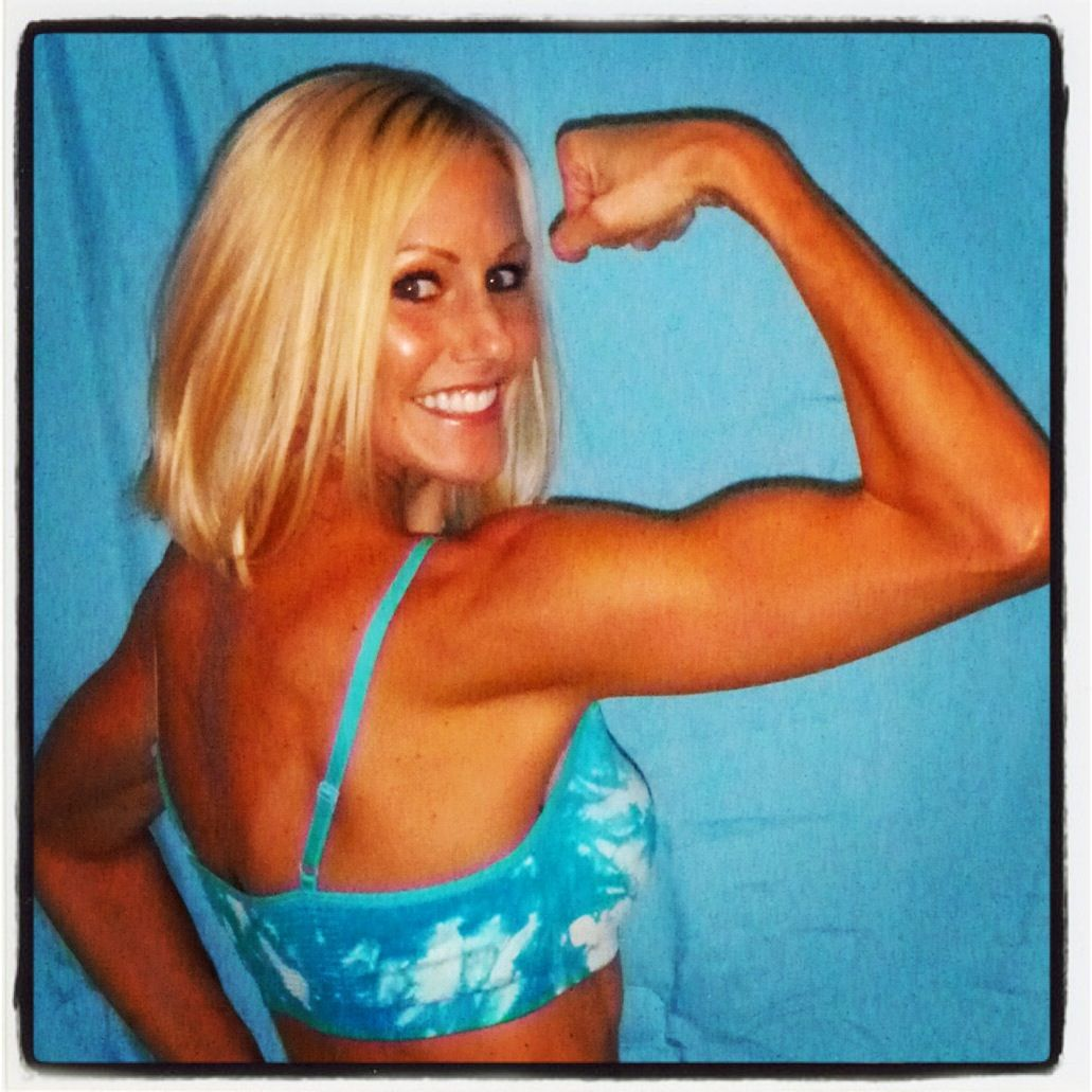 girls with biceps