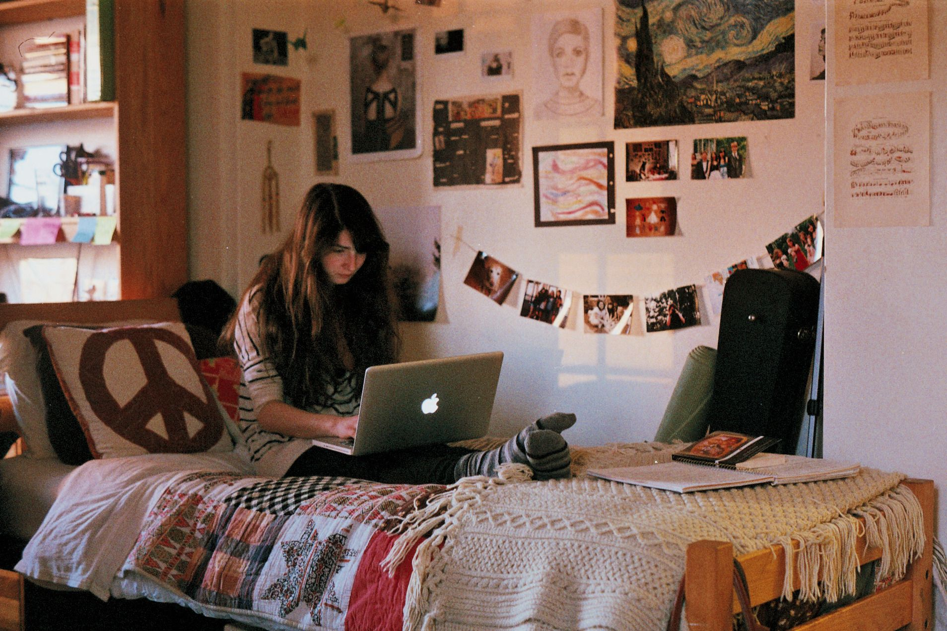 dorm room  hipster swagg  Pinterest ~ 154301_Dorm Room Ideas Hipster