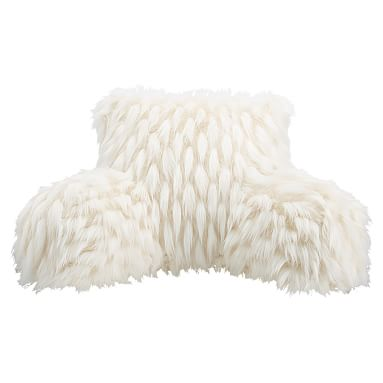 Faux Fur Lounge Around Pillow Cover Winter Fox