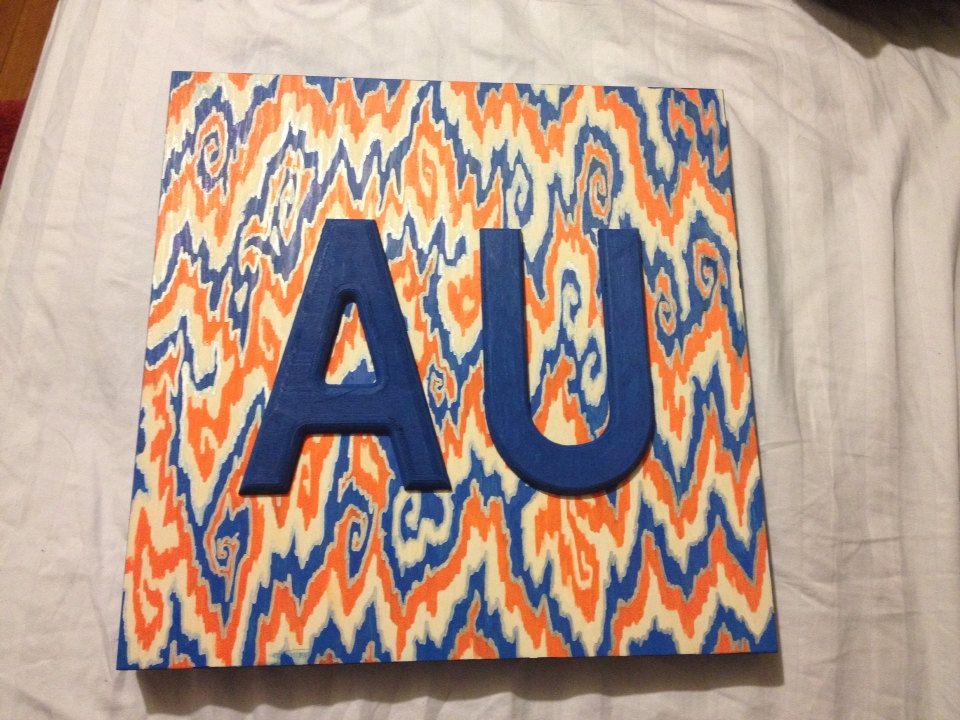 Auburn wall decor by dedrapaintswood on Etsy, $55.00 | Auburn ...
