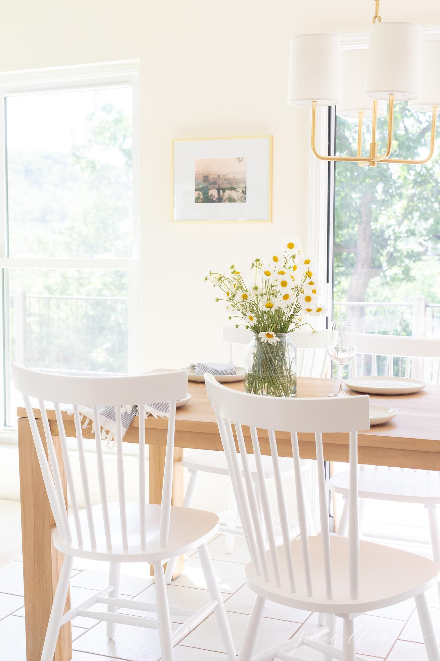 eat in kitchen with a small dining room table home wooden table rh pinterest com