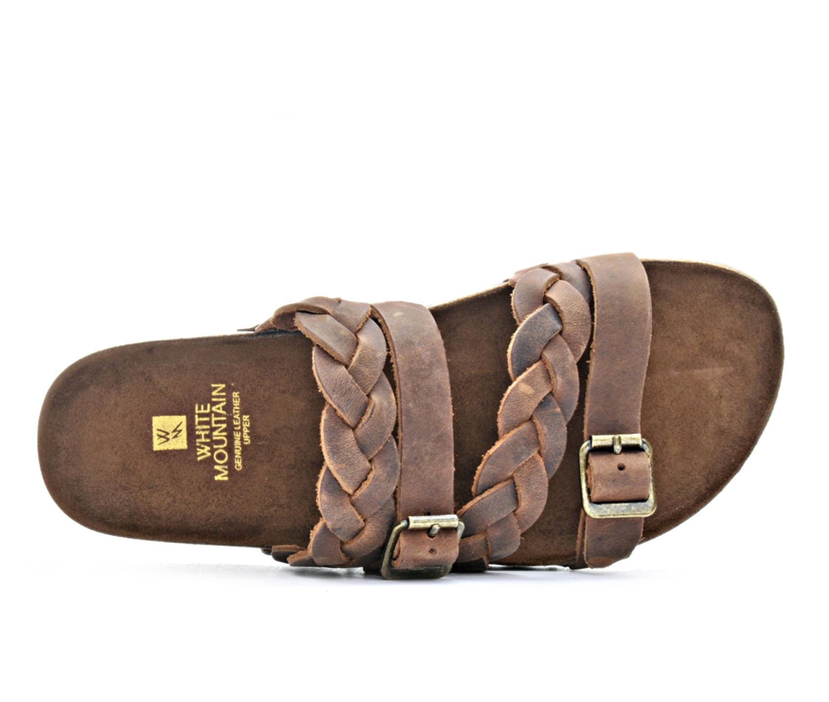 9a05c676de97 Women s White Mountain Holland Footbed Sandals