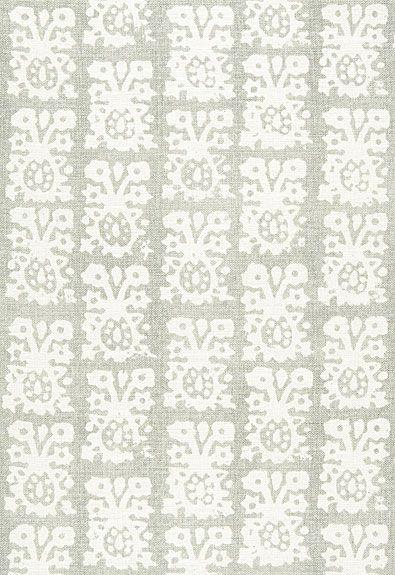 Jakarta Linen Print Schumacher Fabric Fabrics Pinterest Fabric